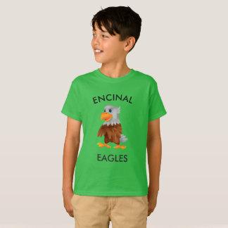 T-shirt vert d'Encinal Eagle Eddie