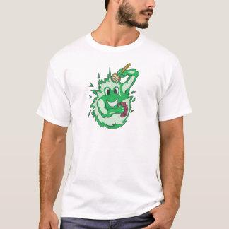 T-shirt Vert d'énergie propre coloré