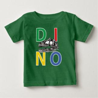T-shirt vert du Jersey d'amende de bébé de DINO -