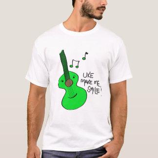 T-shirt vert d'Uke