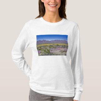 T-shirt Verveine de sable et or de désert au cratère