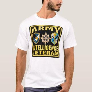 T-shirt Vétéran d'intelligence d'armée