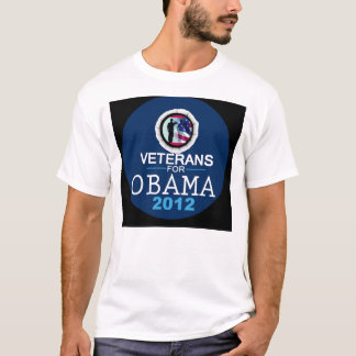 T-shirt VÉTÉRANS pour OBAMA
