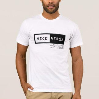 T-shirt Vice versa
