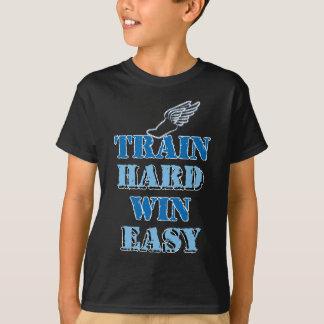 T-shirt Victoire dure de train facile - athlétisme