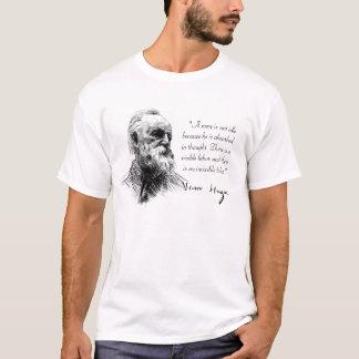 T-shirt Victor Hugo a absorbé dans la pensée