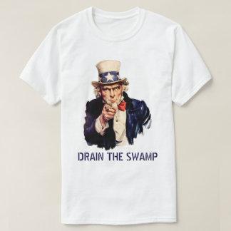 T-shirt Vidangez le marais