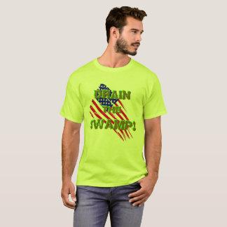 T-shirt VIDANGEZ LE MARAIS ! avec le drapeau américain