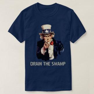 T-shirt Vidangez le marais (foncé)