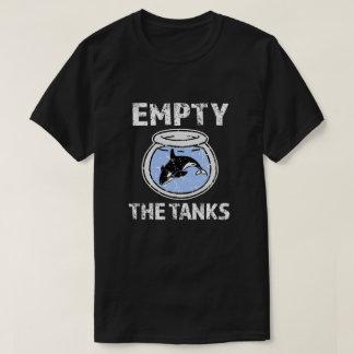 T-shirt Videz les réservoirs - libérez la chemise de