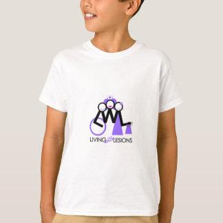 T-shirt Vie avec des lésions