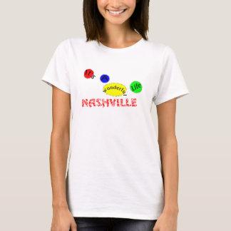 T-shirt Vie-Nashville merveilleux
