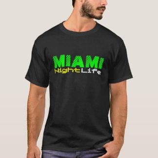 T-shirt Vie nocturne de Miami