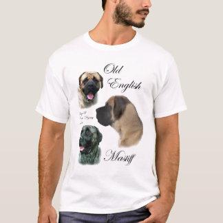 T-shirt Vieil habillement anglais de cadeaux de mastiff