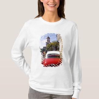 T-shirt Vieille automobile américaine classique dans