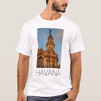 T-shirt Vieille flèche de bâtiment, La Havane, Cuba