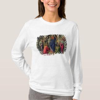T-shirt Vierge et enfant entourés par des anges