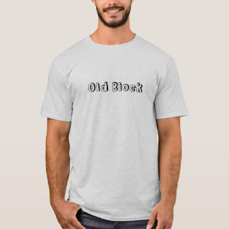 T-shirt Vieux bloc