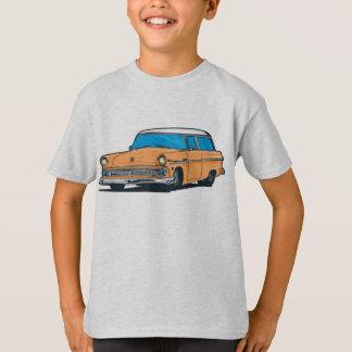 T-shirt Vieux chariot de station