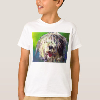 T-shirt Vieux chien de berger anglais