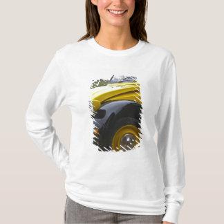 T-shirt Vieux cv noir et jaune de Citroen 2CV 2,