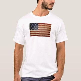 T-shirt Vieux drapeau américain