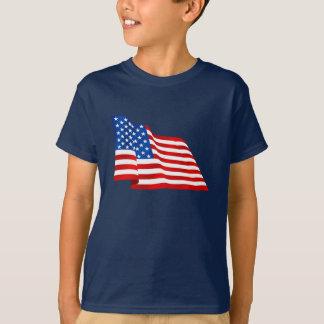 T-shirt Vieux drapeau de gloire des USA des Etats-Unis