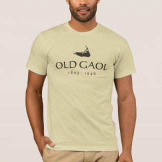 T-shirt Vieux Gaol, carte de Nantucket