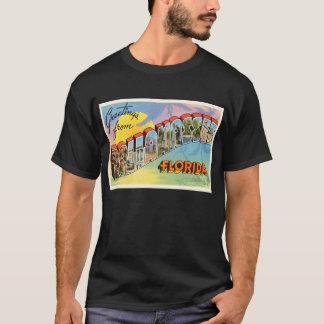 T-shirt Vieux souvenir vintage de voyage de Tallahassee la