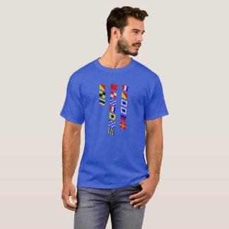 T-shirt Vieux Tosser donnant un petit coup