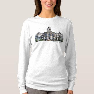 T-shirt Vieux tribunal d'Evansville Indiana