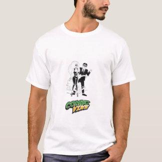 T-shirt Vigne et G-Man comiques - customisés