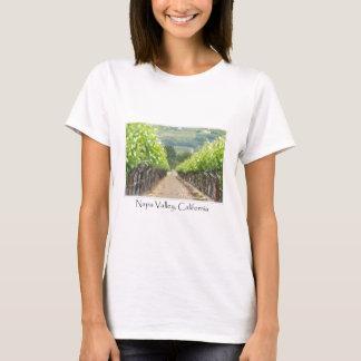 T-shirt Vignoble de ressort dans Napa Valley la Californie