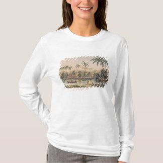 T-shirt Village de Matavae, Tahiti
