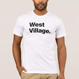 T-shirt Village occidental (noir)
