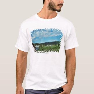 T-shirt Village pittoresque de St Jean au Québec,