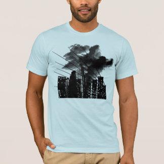 T-shirt Ville brûlante