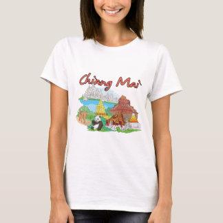 T-shirt Ville célèbre de Chiang Mai, Thaïlande