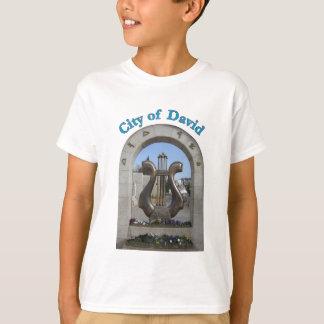 T-shirt Ville de David à Jérusalem, Israël