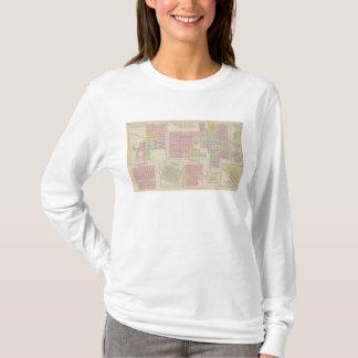 T-shirt Ville de noix, centre de précipitation, La Crosse,