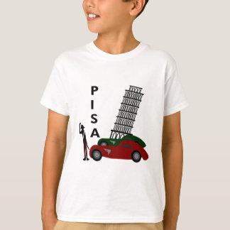 T-shirt Ville de Pise