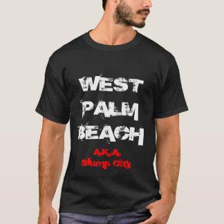T-shirt Ville de récession de WEST PALM BEACH AKA