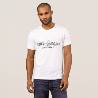 T-shirt Ville de Sheffield