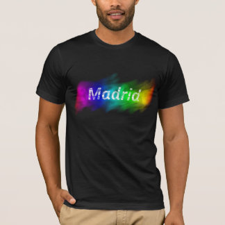 T-shirt Ville fière de Madrid