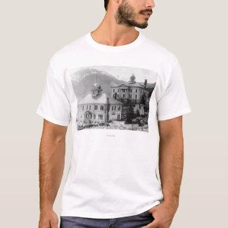 T-shirt Ville hôtel et tribunal à Juneau