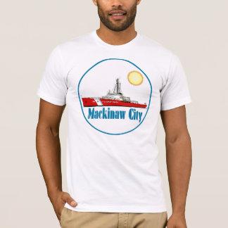 T-shirt Ville Michigan de Mackinaw
