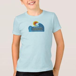 T-shirt Ville NJ d'océan