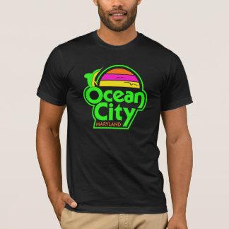 T-shirt VILLE VINTAGE d'OCÉAN en néon