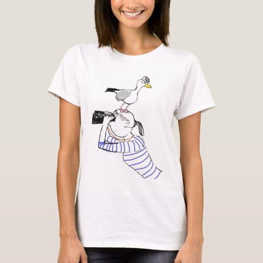 T-shirt Vilnia et son goéland. t. 2