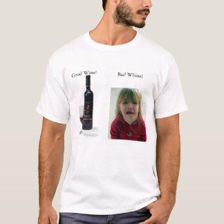 T-shirt Vin contre le gémissement